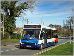 NO! NO! Solo! (Jason 87030) Tags: kx58ayg solo stratford rugby cotonparl daventry ashbyroad stagecoach optare sony alpha a6000 ilce transport travel route 2017 march vehicle road light colour color 47653 houses tree shot camera flickr tag