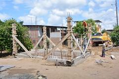 Construyen la caseta para la estación de bombeo en El Vergel (GadChoneEC) Tags: construyen caseta estación bombeo elvergel laaurora construcción municipalidad cumpliendo