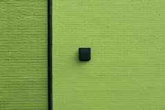 DSC_1940 (stu ART photo) Tags: minimal abstract wall city urban green black line brick