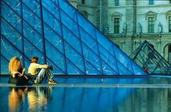 Musee du Louvre and Pyramide du (transmundi) Tags: pyramidedulouvre