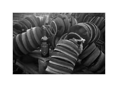 Wine down the Docks [Olympus 35RC] EXPLORE (Mr B's Photography) Tags: film olympus35rc rangefinder docks wine bottle fujifilm