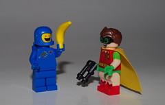 TRADE YEAH ! (kingkong21) Tags: benny boywonder lego banana dccomics