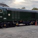 Class 20 Diesel Locomotive D8059 at Avon Valley Railway thumbnail