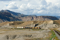 UP Potash-Grand Junction bei Thompson (Gunar Kaune) Tags: thompson sd402 up unionpacific