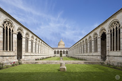 Camposanto Monumentale [IT] (ta92310) Tags: toscana toscane tour torre campanile duomo miracles place miracoli piazza pise pisa europe south unesco italie italia italy 2015 spring travel canon 6d campo santo camposanto monumentale cemetery cloister cloitre