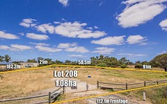 Lot 208 Zaruma Way, West Pinjarra WA