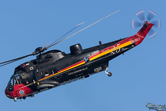 Belgian Air Force Sea King (evansaviography) Tags: searchandrescue sar koksijde exercise internationalsarmeet meet international 2016 veurne vlaanderen belgium be