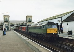 47488 (Sparegang) Tags: 47488 d1713 class47 474 brushtype4 sulzer crosscountrytrains 1m40 1999 britishrail westernregion exeterstdavids fragonset