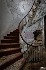 No one starts out on top, you have to work your way up (Abandoned Rurex World.) Tags: hôtel abandonné abandon hdr 2017 urban urbex mga explored abandoned hotel lost place old vintage decay derelict ue exploration urbaine canon 1022mm 70d forgotten memento mori