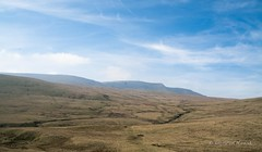 On a hike (Justaboutdone74) Tags: angelpixcn blue clouds flowing green hike landscape mountains nationalpark nature nikond7100 river rocks sun vast wales walks libanus unitedkingdom gb