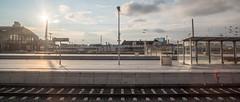Leipzig Hauptbahnhof (MadCyborg) Tags: 122 12mm bahnhof fuji fujifilm gegenlicht hbf hdr l leipzig samyang walimex xt20 contrejour opposinglight trainstation tsf tsf108