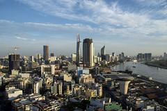 Ho Chi Minh City (Greg Rohan) Tags: goodmorningvietnam cityscape city architecture buildings skyscraper vietnam hochiminh hochiminhcity saigon morning bluesky sunrise photography 2017 d7200