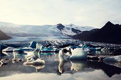 beautiful iceberg lagoon (Vivid Silence) Tags: iceberg glacier iceland island ice water sea ocean nature landscape autumn traveling travel europe