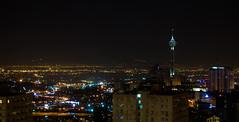 Tehran Night (\Nicolas/) Tags: long exposure tehran teheran iran structure milad tower city تهران برج میلاد