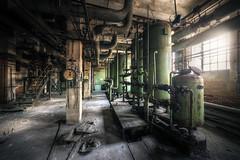Líheň (Michal Seidl) Tags: abandoned heating plant factory industry opuštěná kotelna teplárna továrna fabrika hdr urbex czech