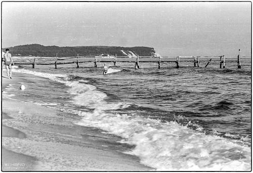 Göhren - Strandbrücke 1960