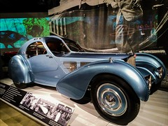 car automobile bugatti atlantic italian classic vintage... (Photo: Thad Zajdowicz on Flickr)