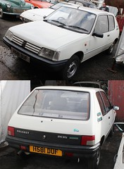 No interest at £500 (Lazenby43) Tags: mathewsons peugeot 205 frenchcar forsale