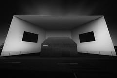 Mindphaser (blondmao) Tags: fineart baselland building bnw switzerland minimal monolith münchenstein light monochrome herzogdemeuron shadow schaulager architecture dark museum blackandwhite bw basel