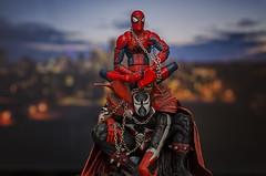 Calgary Comic Expo Team Up (mircoLITRATO) Tags: calgarycomicexpo comicexpo calgary yyc alberta stanlee mcfarlane todd comics spawn spiderman marvel