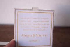 Caixa convite Casamento Adriana e Maurício. (Mimos Art - Para mamães e noivas) Tags: caixaconvite padrinhos casamento marfim bege convitepadrinhos