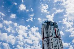 Picasso Condos (Lee Chu) Tags: sonynex6 batis25 toronto ontario canada sky clouds
