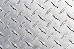 Diamond Plate Aluminum (maytag97) Tags: maytag97 plate diamond metal pattern seamless background texture aluminum gray silver sheet grid industry heavy industrial textured material surface grey rough metallic abstract diamondplate wallpaper strong tough