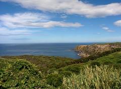 Coast of Terceira (CarlosLuso) Tags: azores açores trail walking trilho trilhos portugal caminhar caminhadas baías agualva terceira island sky cloud cloudy blue coast sea ocean atlantic