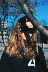 City (Ruby Nixon) Tags: portrait portraiture port natural light naturallight lighting sunlight harsh sun shine sunshine people models model subject blue sky girl female woman women man male men one person single young teens teenagers adults adult nature