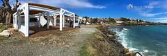 Playa de Cadaqués, Chiringuito La Sal (NavarrOlivier - Estructuras de madera - Pergolas y) Tags: cadaqués girona chiringuito caseta beachbar beachclub carpintería pergola restaurante lasal navarrolivier