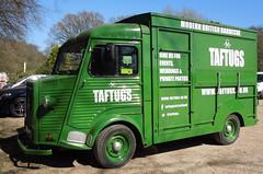 Citroen H Type Van seen in Kent, Apr 2017 (roger.w800) Tags: van cateringvan citroen citroenvan citroenhtype french francais camionette greenvan oldvan classicvan