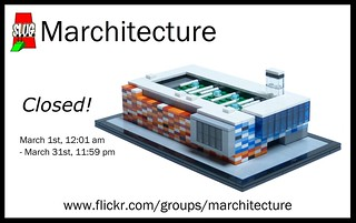 Marchitecture 17 is closed!