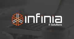 🔥 Logotipo para Infinia - Soluções de hardware, software e serviços em Tecnologia (Criando Logo) Tags: logotipo logomarca criandologo ti software logo
