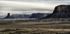 two states... (Alvin Harp) Tags: colorado newmexico dawn rockformations plateaus landofenchantment mystic earlylight americansouthwest cowboycountry navajonation utemountaintribe mountainlandscape landscape sonyilce7rm2 fe24240mm march 2017 naturelover naturesbeauty alvinharp