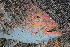 Mosaic Grouper (HockeyholicAZ) Tags: cayman grandcayman caymanislands tropical caribbean ocean blue snorkel scuba padi ssi naui nitrox fish coral sponge bwi britishwestindies ivan atatude divetech lighthousepoint indies camanabay jimhellemn mosaic observationtower tiles art