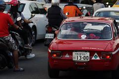 渋滞 (Haw-Shyang Chang) Tags: 1973 alfaromeo gta1300junior 中山南路 中正紀念堂 渋滞 rushhour