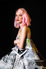 Pink Doll (tom ueda) Tags: california canon fashion losangeles model newspapers photo photograph photography portrait portraiture studio unitedstates woman