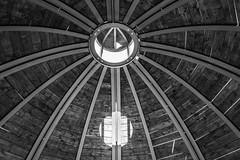 Cupola (albertoluc) Tags: sigurtà valeggiosulmincio cupola labirinto biancoenero blackandwhite dome