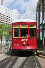 New Orleans Riverfront Streetcar (Stabbur's Master) Tags: louisiana neworleans neworleansstreetcar streetcar trolley lightrail tram transit transportation publictransit publictransportation streetcarstation transitstation riverfrontstreetcar