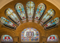 windows 2 (Mariasme) Tags: windows queenvictoriabuilding colourful