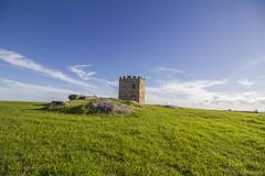 Single Castle (pradeep2471989) Tags: australia landscapephotography canon7d skyscape clearsky sunny goldenhour sunset newsouthwales castle laperouse beach beachesofaustralia photogenic bridge bareisland cloudscape