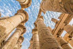 Karnak Temple (mahmoud.eid1987) Tags: history historical architecture ancient ancientegypt egypt egyptology luxor sky blue clouds beautiful travel travelphotography nikon nikond7100