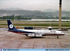 Pluna - CX-BNU (Aviacaobrasil) Tags: pluna boeing707 aeroportointernacionaldoriodejaneirogaleão danielcarneiro