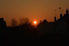Sun Set taken from Bedroom Window (John Carson Essex UK) Tags: thegalaxy thegalaxystars rainbowofnature supersix