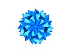 С Днем Рождения, Георгий!! (masha_losk) Tags: kusudama кусудама origamiwork origamiart foliage origami paper paperfolding modularorigami unitorigami модульноеоригами оригами бумага folded symmetry design handmade art