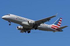 Republic Airline (American Eagle) // Embraer ERJ-175LR // N118HQ (cn 17000189) // KCMH 4/8/17 (Micheal Wass) Tags: cmh kcmh johnglenncolumbusinternationalairport johnglenninternational johnglennairport yx rpa republicairline americaneagle embraer erj175 embraer175 embraererj170200 embraer175lr embraererj175lr embraererj170200lr e175 e75s