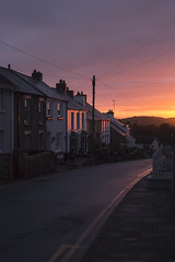 Sunset (kbee693) Tags: thisimageiscopyrighted sunset stdavids pembrokeshire southwales ight houses colour canoneos6d