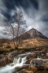 First Watch (rgcxyz35) Tags: buachailleetivemòr spring landscape waterfall highlands glencoe glenetive mountains stobdearg river rivercoupall longexposure scotland rocks