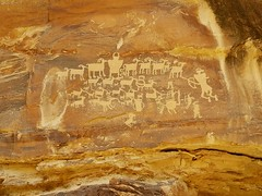 A great find in the nine mile canyon in Utah. (littlebiddle) Tags: explore utah petroglyphs native art