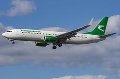 EZ-A018 / Boeing 737-82K(W) / 61573/6003 / Turkmenistan Airlines (A.J. Carroll (Thanks for 1 million views!)) Tags: eza018 boeing 73782k 737800 737 738 615736003 cfm567b26 turkmenistanairlines epfj 601834 london heathrow lhr egll 27r